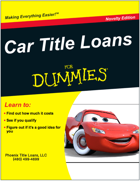 Auto Title Loans 101 for Dummies