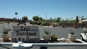 Lost Dutchman RV Resort Apache Junction 85120