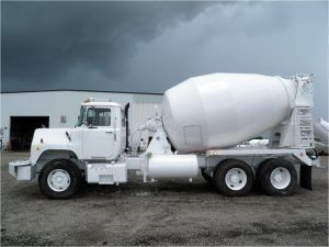 Cement Mixer Construction Vehicle
